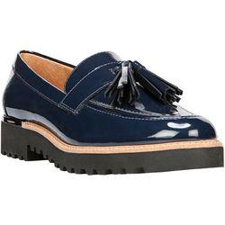 Franco Sarto Womens Carolynn Tassel Loafers