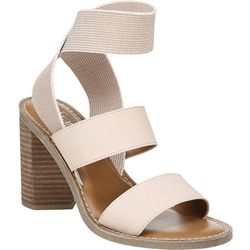 Franco Sarto Womens Dear Heeled Sandals
