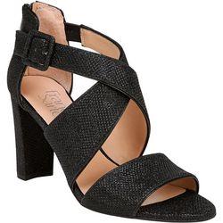 Franco Sarto Womens Hazelle 2 Heeled Sandals