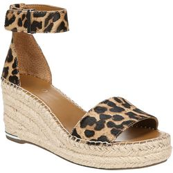 Franco Sarto Womens Clemens Calf Hair Sandals
