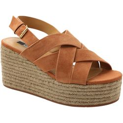 Womans Facoma Platform Wedge Sandals