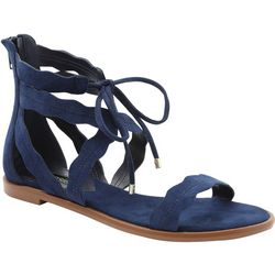 Kensie Womans Mandoline Lace Up Sandals