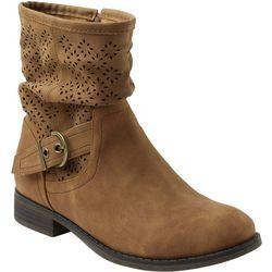 XOXO Womens Calandra Slouchy Ankle Boots