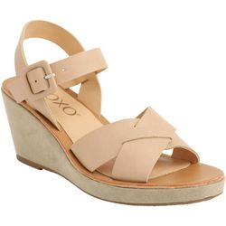 XOXO Womens Vice Wedge Sandals