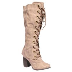 2 Lips Too Womens Too Loaded Laceup Boots