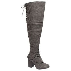 2 Lips Too Womens Over the Knee Too Liam Boots