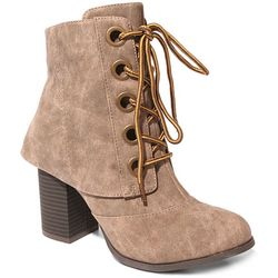 2 Lips Too Womens Too Lala Lace Up Bootie