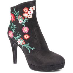 2 Lips Too Womens Too Lucy Embroidered Boots
