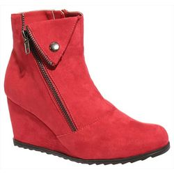 2 Lips Too Womens Too Nissa Ankle Bootie