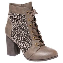2 Lips Too Womens Too Lazlo Lace Up Booties
