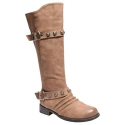 2 Lips Too Womens Too Jagger Buckle Boots