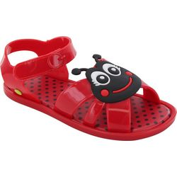 Western Chief Girls Ladybug Sandbox Sandals