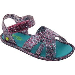 Western Chief Toddler Girls Glitter Sandals