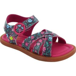 Western Chief Toddler Girls Floral Picnic Sandals