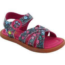 Western Chief Girls Floral Picnic Sandals