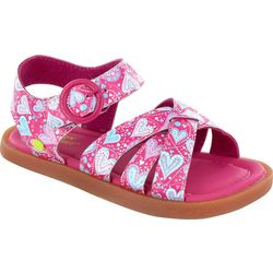 Western Chief Girls Hearts Picnic Sandals