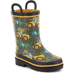 Western Chief Toddler Boys Tractor Tough Rainboots