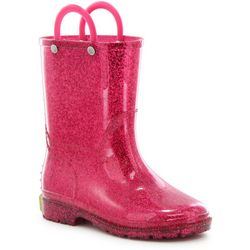Western Chief Toddler Girls Glitter Rain Boots