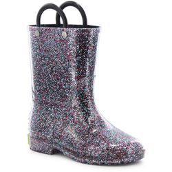 Western Chief Girls Glitter Rain Boots
