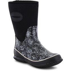 Western Chief Womens Sketch Flowers Rain Boots