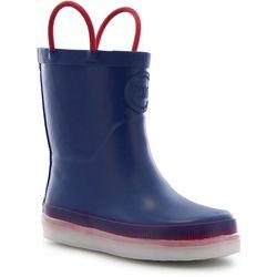 Western Chief Boys Tech LED Rain Boots