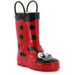 Western Chief Toddler Girls Ladybug Rain Boots