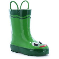Western Chief Toddler Boys Frog Rain Boots