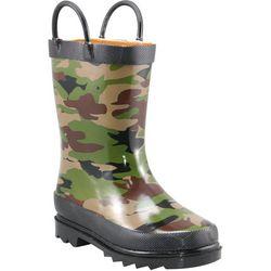 Western Chief Boys Camo Rain Boots
