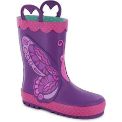 Western Chief Toddler Girls Butterfly Rain Boots