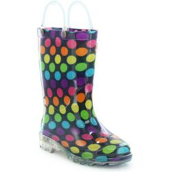 Western Chief Toddler Girls Darling Dot Rain Boots