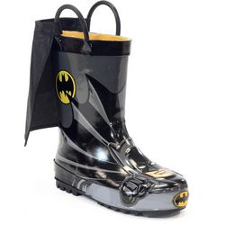 Western Chief Toddler Boys Batman Caped Rainboots