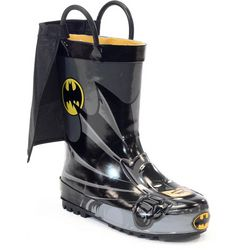 Western Chief Little Boys Batman Caped Rainboots