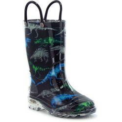 Western Chief Toddler Boys Dinosaur Rainboots