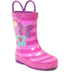 Western Chief Toddler Girls Blossom Cutie Rainboot