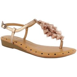 Dolce by Mojo Moxy Womens Capri Tassel Sandals