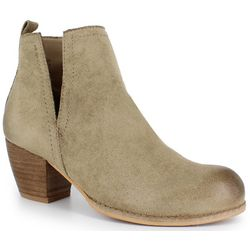 Dolce by Mojo Moxy Womens Nora Split Ankle Booties