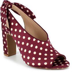 Dolce by Mojo Moxy Womens Plum Heels