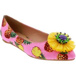 Penny Loves Kenny Womens Aurora Pineapple Flats