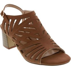 Bellini Womens Shadow Lazer Cutout Sandals