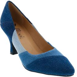 Bellini Womens Zany Colorblock Heels