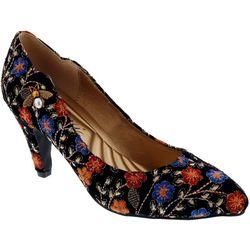 Bellini Womens Bea Floral Heels