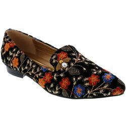 Bellini Womens Beam Floral Loafers
