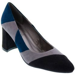 Bellini Womens Crown Patched Heels