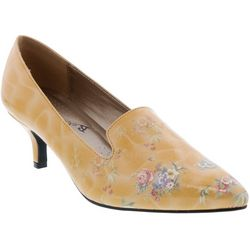 Bellini Womens Bobcat Floral Heels