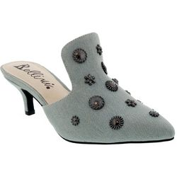 Bellini Womens Persian Studded Heeled Mules