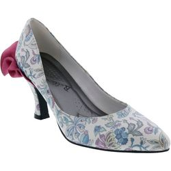 Bellini Womens Clarise Ruffled Pumps