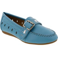 Bellini Womens Curacao Buckle Loafers