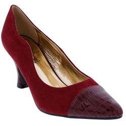 Bellini Womans Zara Croc Toe Pumps