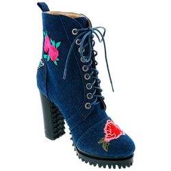 Penny Loves Kenny Womens Frank Lace Up Boots
