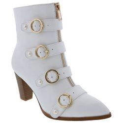 Penny Loves Kenny Womens ASAP Buckle Boots